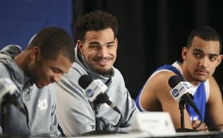 Aaron Harrison, Willie Cauley-Stein, Trey Lyles