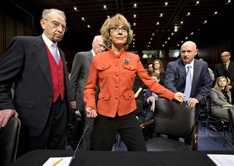 Gabrielle Giffords , Mark Kelly, Patrick Leahy, Chuck Grassley