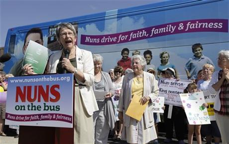 Nuns Bus Tour