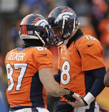 Peyton Manning, Eric Decker
