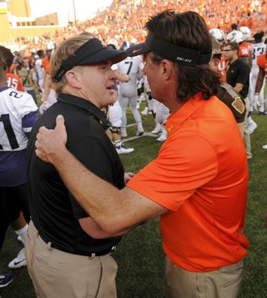 Mike Gundy, Gary Patterson