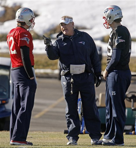 Scott O'Brien, Tom Brady, Ryan Mallett