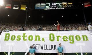 MLS Revolution Timbers Soccer