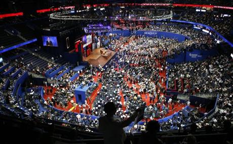 APTOPIX Republican Convention