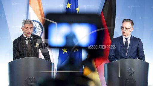 Indian Foreign Minister to Foreign Minister Maas