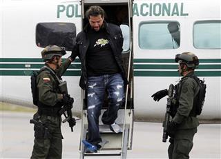 Colombia Drug Arrest