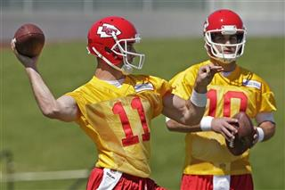 Alex Smith, Chase Daniel