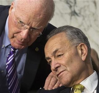 Patrick Leahy, Charles Schumer