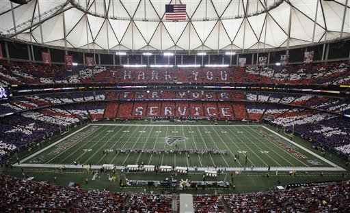 Atlanta Falcons--Georgia Dome