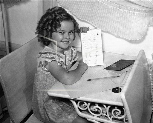 Watchf Associated Press Domestic News Entertainment California United States APHS216286 Shirley Temple Los Angeles 1935