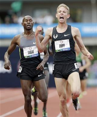 Galen Rupp, Bernard Lagat