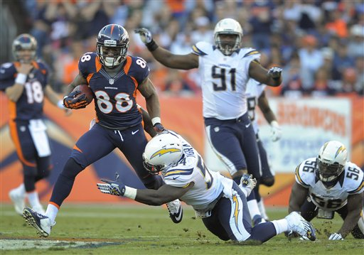 Demaryius Thomas, Melvin Ingram