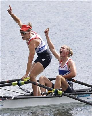 London Olympics Rowing Women