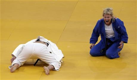 APTOPIX London Olympics Judo Women