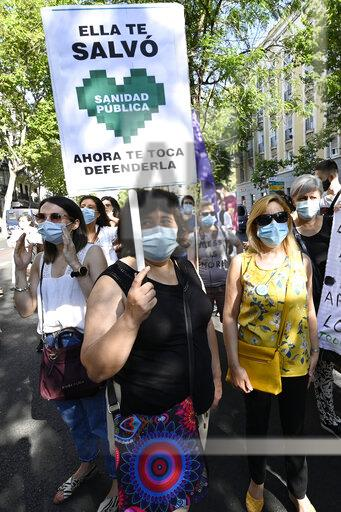 Protest Social Issue Spain