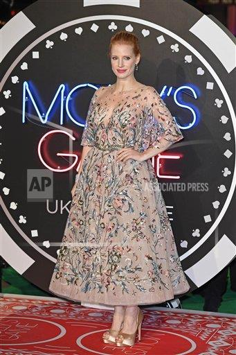STRMX KGC-143/STAR MAX/IPx A ENT   IPX Jessica Chastain at the premiere of 'Molly's Game' - 12/6/17