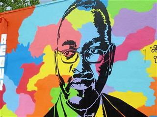 Charleston Shootings Mural
