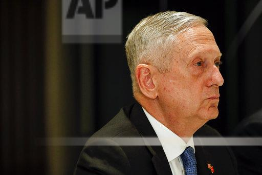 Singapore Mattis Security Meeting