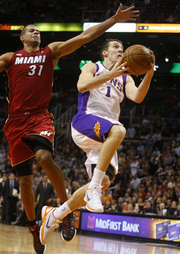 Goran Dragic, Shane Battier