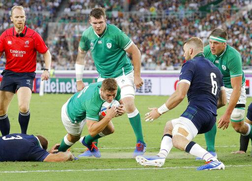 Rugby World Cup in Japan: Ireland v Scotland