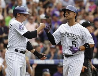 Josh Rutledge, Carlos Gonzalez