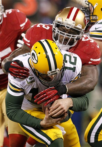 Patrick Willis, Aaron Rodgers