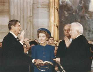 REAGAN NANCY REAGAN WARREN BURGER