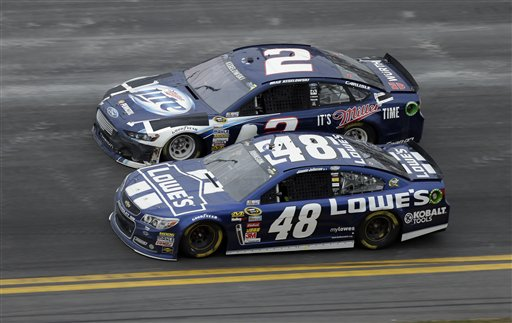 Jimmie Johnson, Brad Keselowski