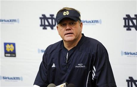 BCS Notre Dame Kelly Football