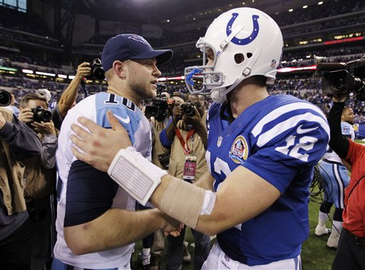 Andrew Luck, Jake Locker