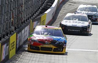 Kyle Busch, Josh Wise, Ryan Newman