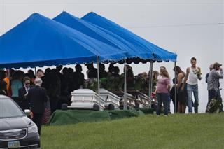 APTOPIX Ohio Shootings Funerals