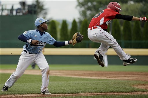 LLWS Curacao Canada Baseball