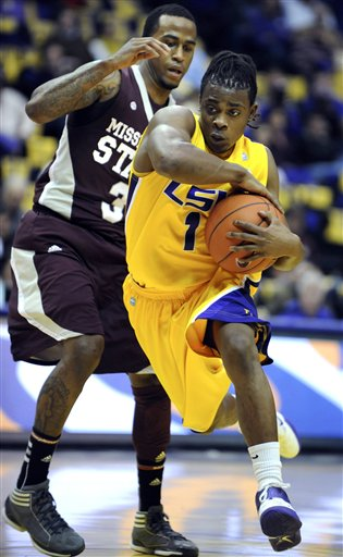 Lsu Mississippi St Basketball