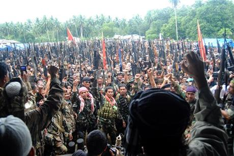 Philippines Warring Rebels