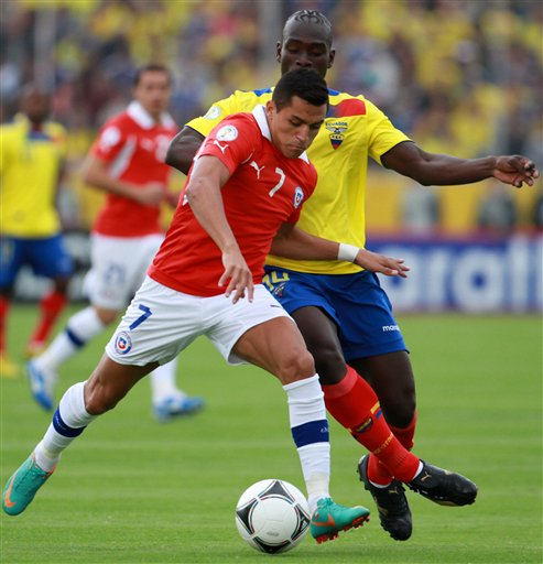chile determined to win when draw with ecuador suits both soccer chile ...