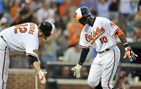 Adam Jones, Matt Wieters