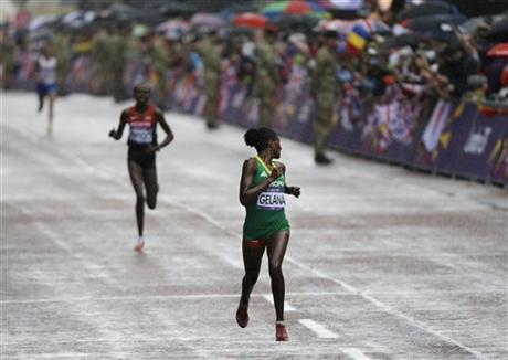 London Olympics Athletics Women Marathon