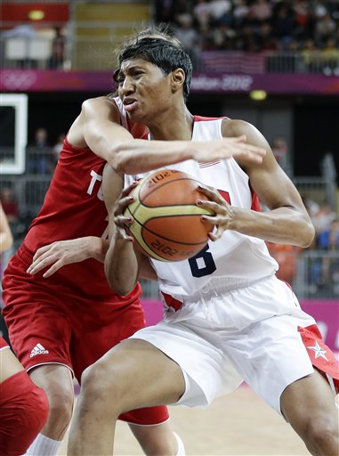 Bahar Caglar,  Angel McCoughtry