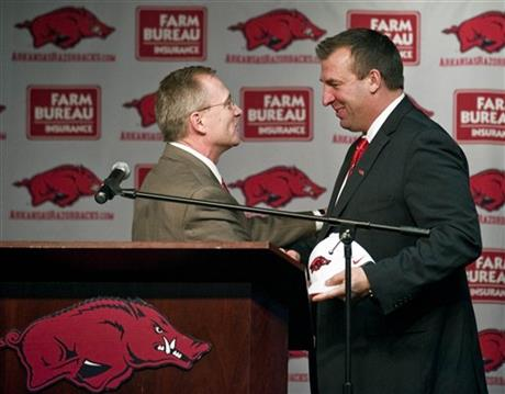 Jeff Long, Bret Bielema