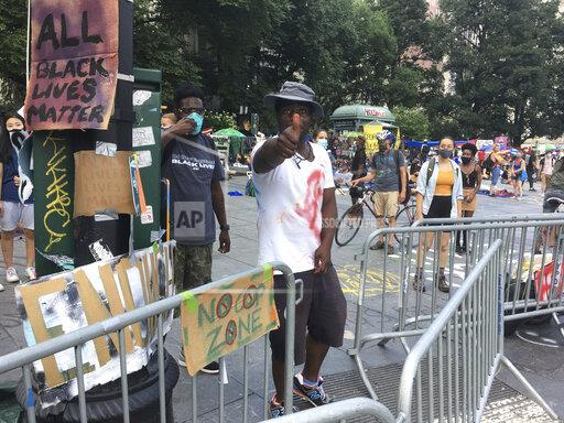 Occupy City Hall Encampment in New York City - 6/29/20