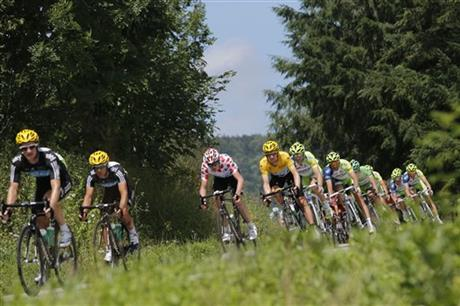 Cycling Tour de France Switzerland