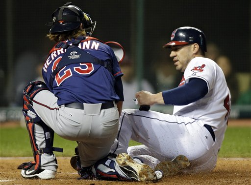 Travis Hafner , Chris Herrmann