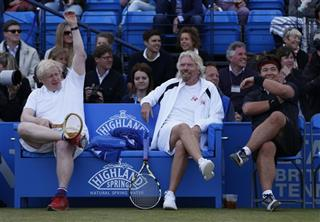 Boris Johnson, Richard Branson, Michael McIntyre