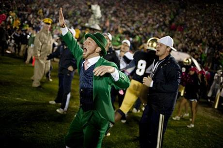 Notre Dame Stanford Football