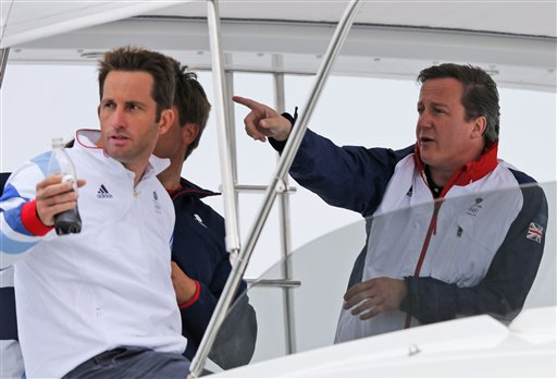 David Cameron, Ben Ainslie