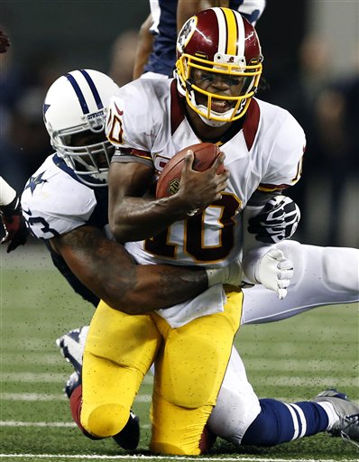 Robert Griffin III, Anthony Spencer