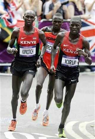 Wilson Kipsang Kiprotich, Stephen Kiprotich, Abel Kirui