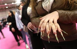 Italy Rome Nail Olympics