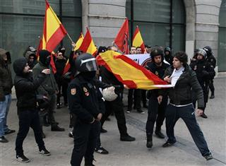 Spain Students Strike
